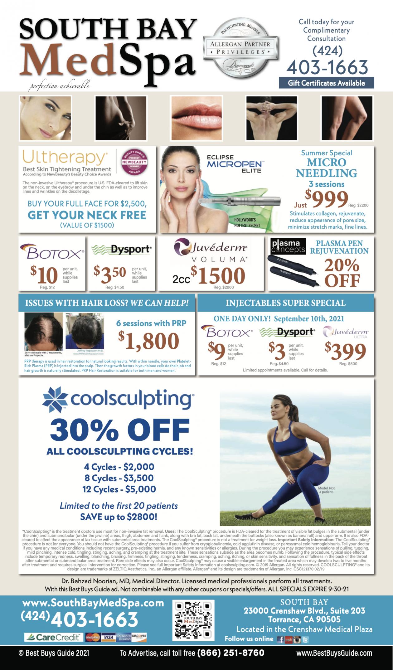 torrance-med-spa-botox-dermal-laser-hair-coolsculpting-promos-deals-offers