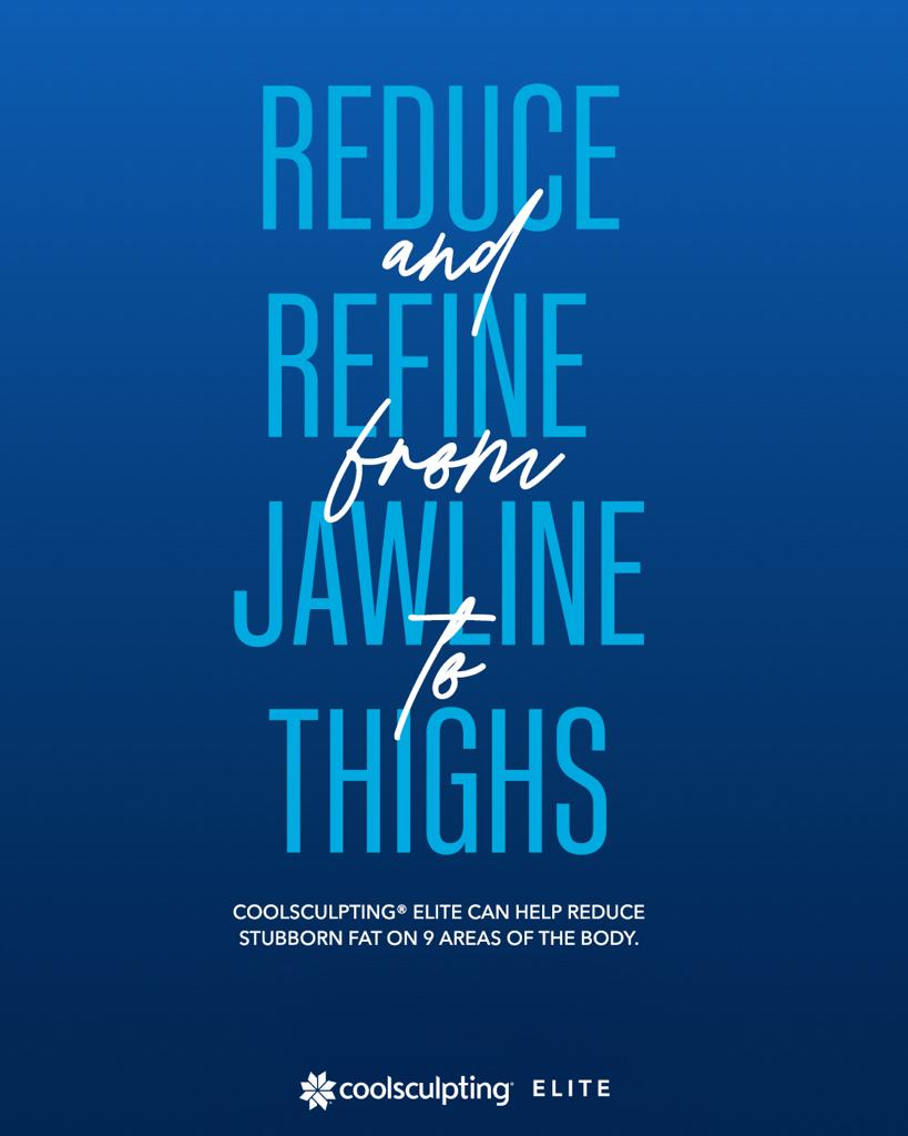 Coolsculpting Jawline Coolsculpting Thighs, Inner Thigs and Banna Roll Fat Freeze